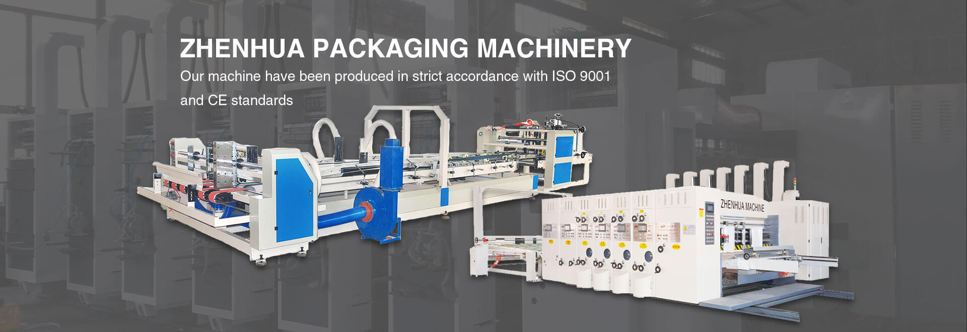 Printing Machine, Gluer Machine