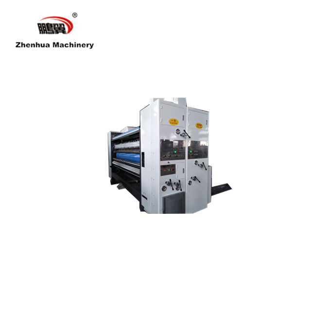 SYKM4812  High denifition Middle speed Multi- color printing slotting die cutting stacking machine