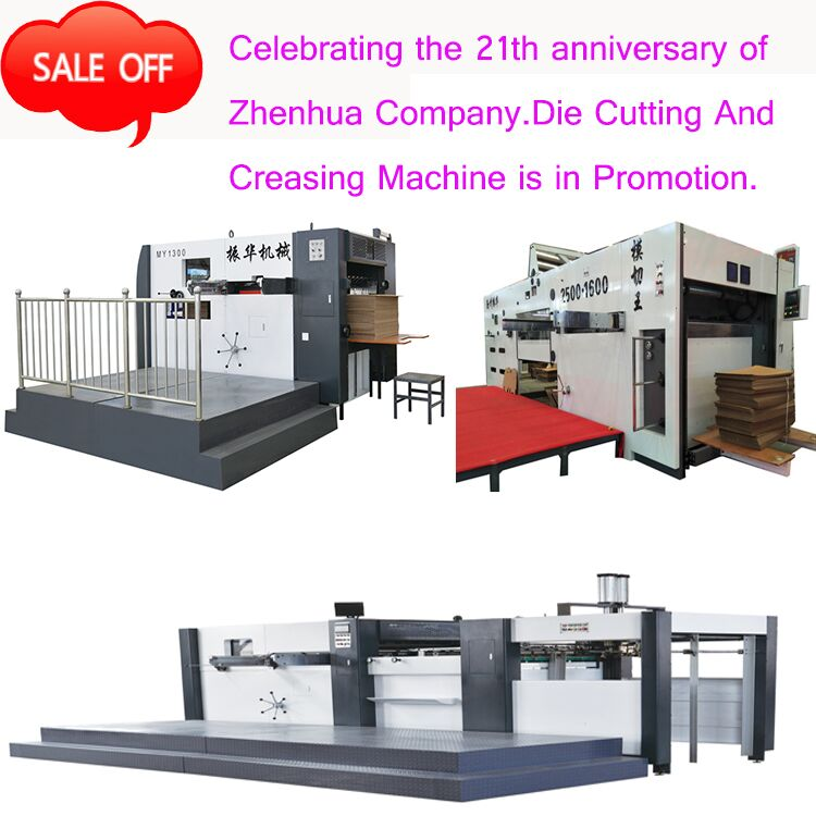 Die Cutting And Creasing Machine