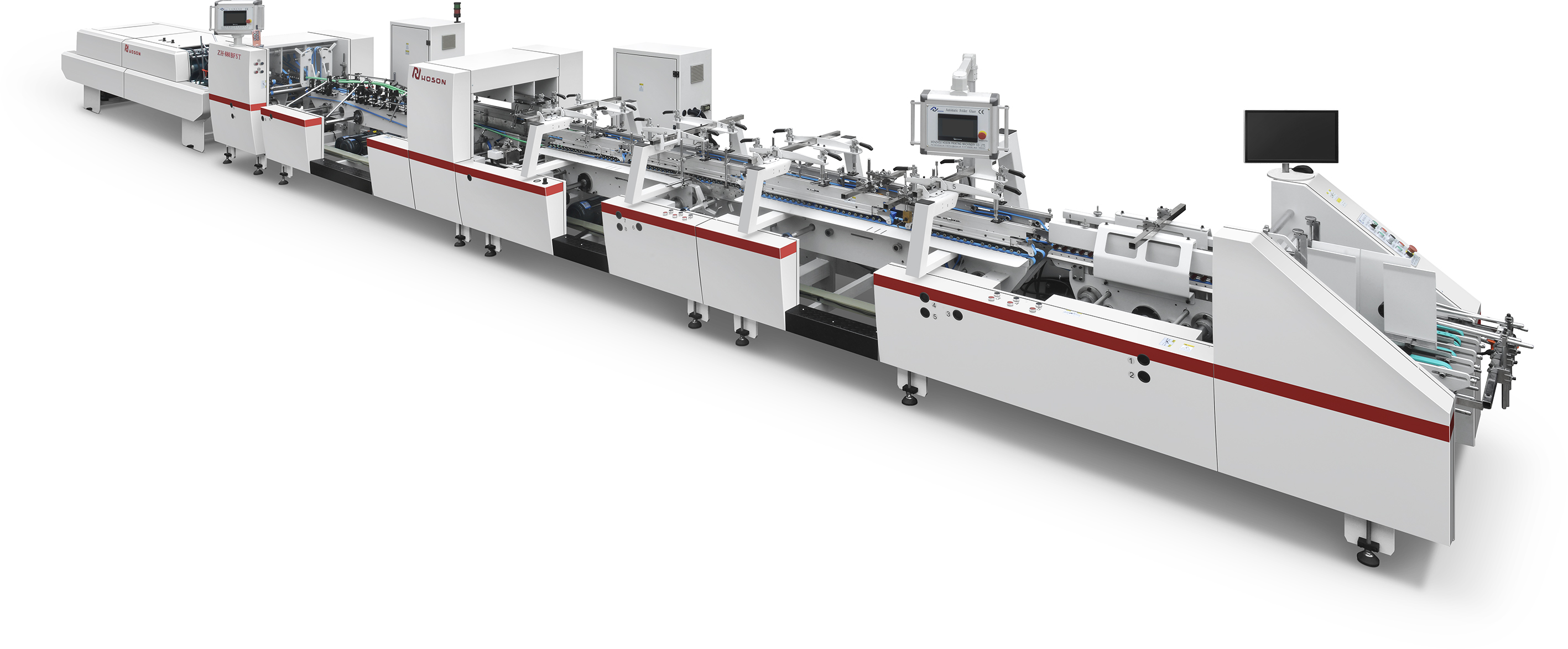 ZH-880SLJ  4/6 Corner Type Folder Gluer Machine