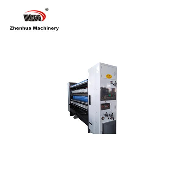 ZH-SYKM-H Flexo Carton Box Making Machine Of Printing Slotting For Pizza Box