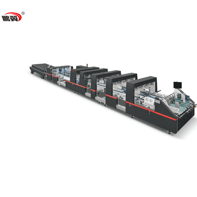 ZH-1800BFT UPGRADE Automatic Bottom Lock Type Folder Gluer Machine