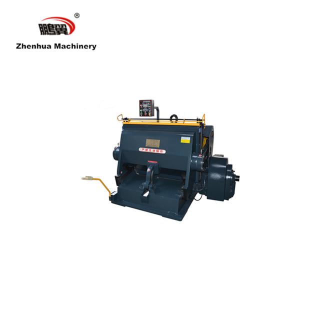ML-1100 manual die cutting and creasing machine