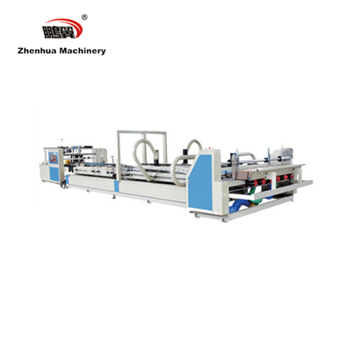 ZH-QZD 2800 corrugated carton auto folder gluer machine for cardboard