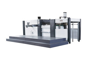 Die-cutting And Creasing Machine For Printing And Packaging Industry