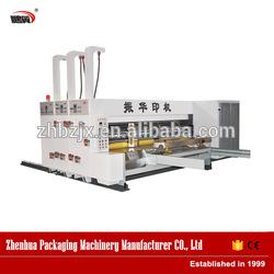 2color flexo printer slotter rotary die-cutter machine carton package