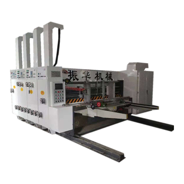 ZX-YSF-D 1700x600 2 color top and bottom flexographic printing machine for carton boxes