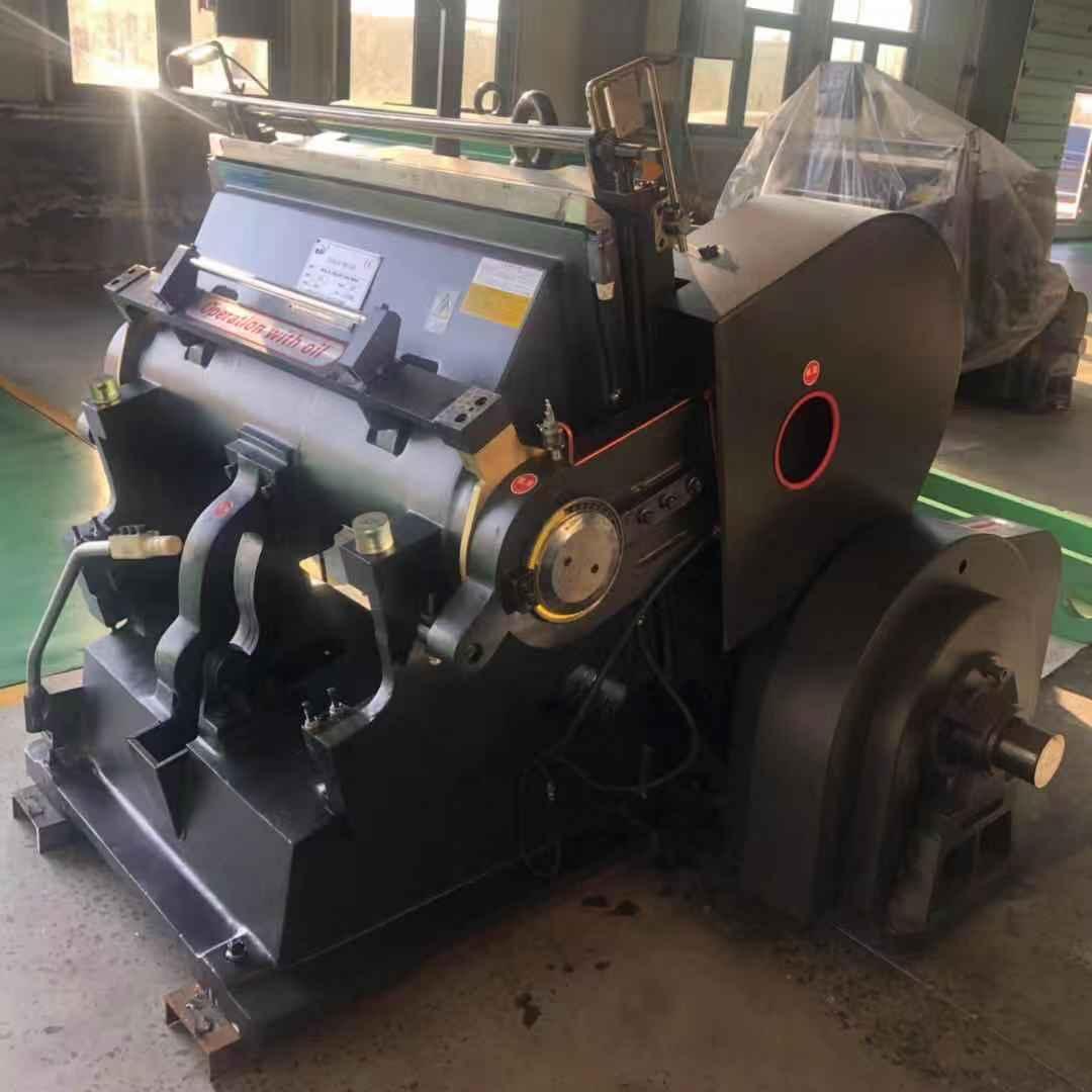 ZH-ML1300 price of china manual die lutting and creasing machine