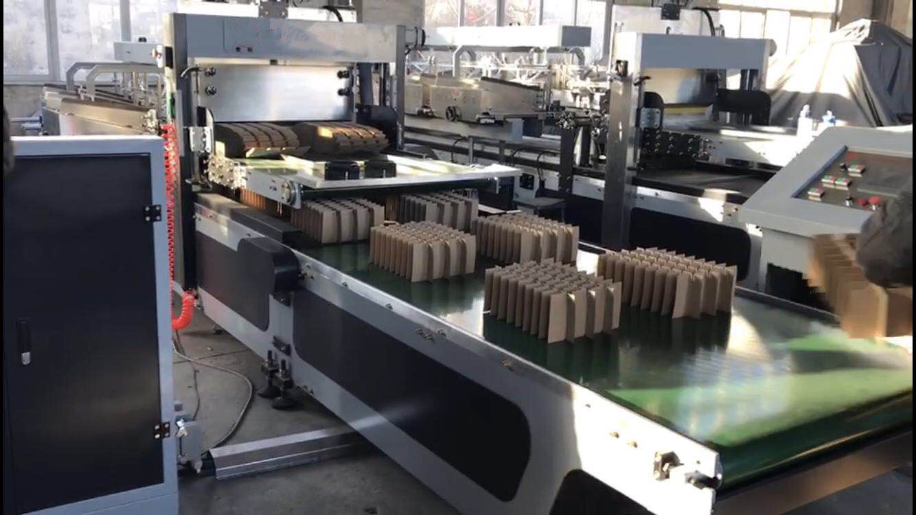 ZH-GY600 Automatic corrugated cardboard partition assembler machine