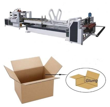 ZH-QZD 2800 Carton folding and gluing machine carton packing machine